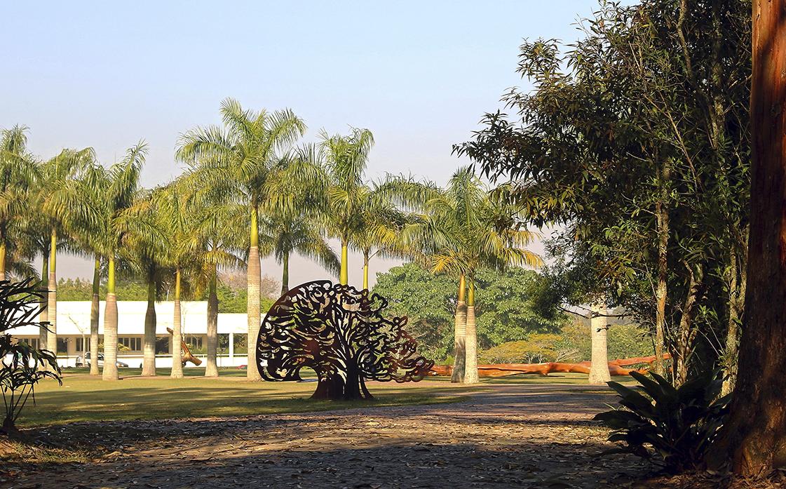 Arte no Parque Obras de arte desenvolvidas especialmente para o Memorial Parque das Cerejeiras.