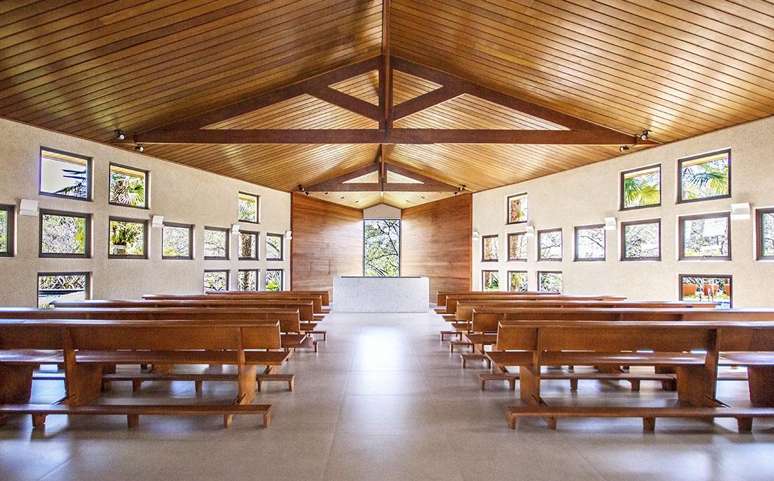 Capela Nossa capela ecumênica.
